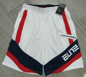 NWT Nike Dry Elite Color Block Basketball Shorts Sz L 100% Authentic BV9381 100