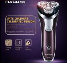 Flyco FS376 Electric Shaver 3D Floating Triple Blade Head Rechargeable Washable