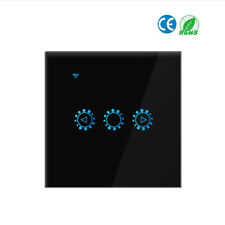Smart Light Switch Dimmer 3 Way Wall Wifi Lamp LED Light Touched Switch O5X4