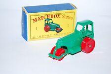 MATCHBOX SERIES DIESEL ROAD ROLLER N° 1 NEUF / BOITE NEW/BOX