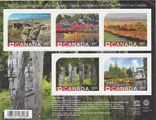 Canada 2014 Souvenir Sheet #2739 UNESCO World Heritage Sites in Canada MNH