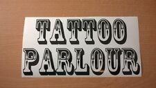 tattoo parlour shop studio window door sign vinyl graphic wall art sticker decor