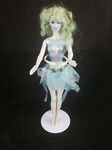 Mattel Sparkle Fairy Barbie Blue Skin And Hair Fairytopia No Wings