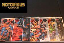 Superman Batman 1 2 3 4 5 6 7 Complete Loeb McGuinness Comic Lot Run Set DC