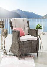 Destiny Gartensessel Luna Braun Geflechtsessel Polyrattan Sessel