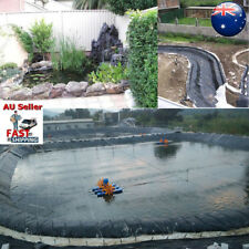 9x11m Fish Pond Liner Garden Pools HDPE Membrane Reinforced Guaranty Landscaping