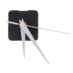 White Spindle Hands Quartz Clock Movement Mechanism DIY Repair Tool Craft BDKN