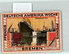 39330781 - 2800 Bremen Notgeld 75 Pfennig Deutsche Amerika Woche Bremerhaven