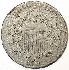 1882 RPD SHIELD NICKEL. Copper/Nickel. L@@K!!!