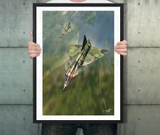 PIXAERO Poster 'JA37 Saab Viggen' by Peter van Stigt  A2 Wall poster (unframed)