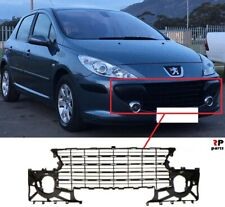 FOR PEUGEOT 307 05-07 NEW FRONT BUMPER UPPER CENTER GRILLE 7414NW