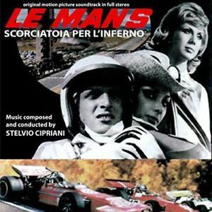 Stelvio Cipriani – Le Mans Shortcut to Hell OST CD Digitmovies 1970 Edwige Fene
