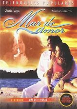 MAR DE AMOR New Sealed 3 DVD Set 11 Hours Ocean of Love Telenovelas Populares