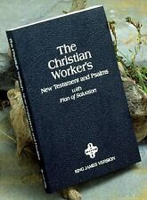 Christian Worker's : The New Testament and Psalms with Plan of Salvation by...