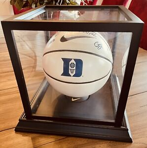 2015 NCAA Men's National Champion Duke Basketball Team Signed In Display Case NR