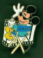 "DISNEY PIN SODA FOUNTAIN STUDIO STORE CHARACTER ""DIRECTOR MICKEY"" LE 300"