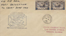 WW Canada First Flight Fort Resolution to Great Bear Lake -  12/6/1932 - WW 7223