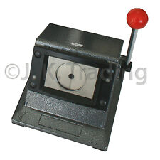 Heavy Stand Cutter for 25mm Round Badge Button Maker Cuts 35mm Paper Scrapbook