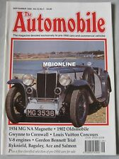 The Automobile magazine September 1994 featuring MG NA, Oldsmobile