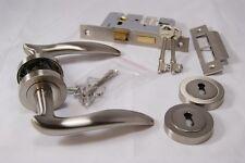 Designer Swish Door Handle Pack (Internal 3 lever Lock)