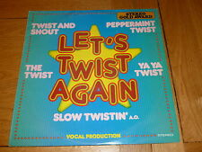 LET'S TWIST AGAIN - The Greatest Hits - 1976 UK 12-track LP