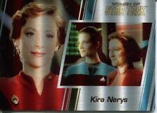 Star Trek Women Of 50th Metal Parallel Base Card #65 Kira Nerys and Jadzia Dax