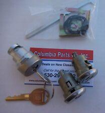 Lock pr Camaro 79 80 81 Door /& Trunk Deck Lid Panel 139