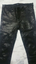 JBrand Lamb Skin Leather Pants, Excellent Condition