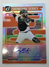 2021 Donruss Joey Bart RC Rookie Card Auto Signature Series SS-JB w/ (3) Cards