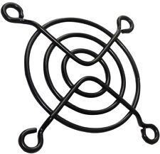 5x Grille noire de protection 50x50mm ventilation pour ventilateur boîtier PC