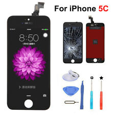 Black Assembly LCD Touch Screen Digitizer Replacement for iPhone 5C A1532 A1456