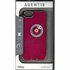 AGENT18 Cell Phone Case For iPhone 5 5S SE Pink/gold Rims Cover Brand New 2E