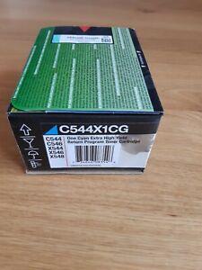 Original Lexmark Toner C544X1CG Cyan für C544 C546 X544 X546 X548 unbenutzt