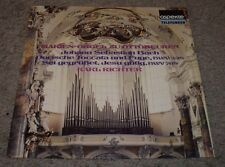 Bach Marien-Orgel Zu Ottobeuren Richter~RARE German Import Classical~VG++ Vinyl