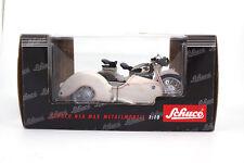 #06512 - Schuco NSU MAX MOTO con carrozzetta-BIANCO - 1:10