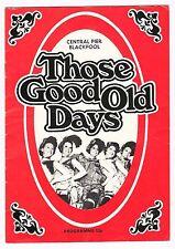 "CENTRAL PIER BLACKPOOL 1977 SUMMER ""THOSE GOOD OLD DAYS"" WYN CALVIN DUGGIE CLARK"