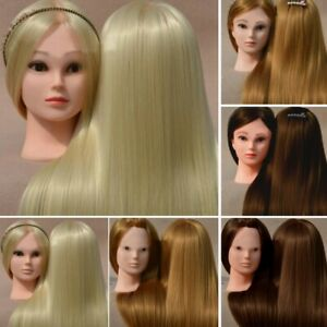Salon Hair Training Head Hairdressing Styling Mannequin Doll +Clamp Professional