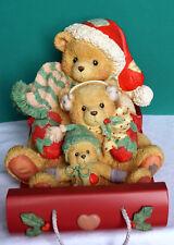 Cherished Teddies * Spieluhr - Theadore, Samantha and Tyler * NEU - RAR - GROSS
