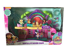 Dora the Explorer Dora & Friends Café Playset by Fisher-Price/Nickelodeon -New