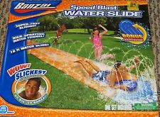 Banzai Speed Blast Water Slide with Body Board Ages 5-12 NEW
