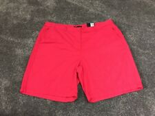 M&S  Women Hot Pink 100% Cotton Casual Shorts BNWT Size 16 Free Sameday Postage