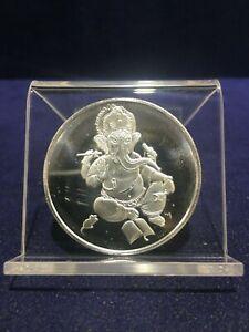 1 oz Proof Silver Ganesha Round 999 Fine