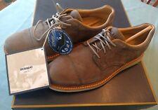 Sebago Smyth Cap Toe Mens Oxford Men's Size 7M Dark Grey Nubuck New in Box