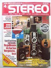 STEREO 4/82 ONKYO M 5090,SANYO PLUS 5,SONY TC FX7,SHURE  V 15V,PFEIFER PCM 700 P