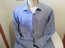 Ben Sherman blue long sleeve button down shirt - mens XL 17.5-34/35