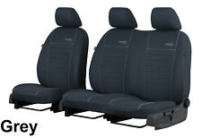 VW CRAFTER FACELIFT 2017 PRESENT 2+1 STRONG FABRIC SEAT COVERS MADE TO MEASURE
