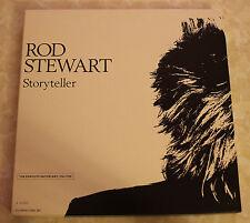 ROD STEWART STORY TELLER STORYTELLER 1989 WARNER BROS 4CD BOX SET VCG