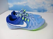 Nike Rival M Racing Blue Green Women's Multi Use Track Spikes Size 10 Multiuse
