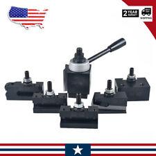 Axa Size 250 100 Set Piston Type Quick Change Tool Post Set For Lathe 6 12 Usa