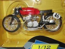 Gilero 500, #46 (1950) Umberto Masetti, escala 1:12, GP Racing Moto, Altaya